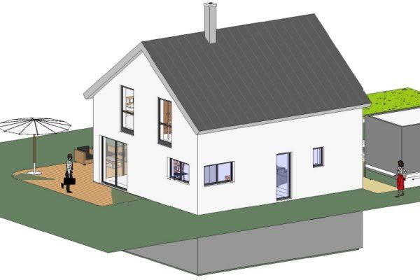 Einfamilienhaus Dornstetten